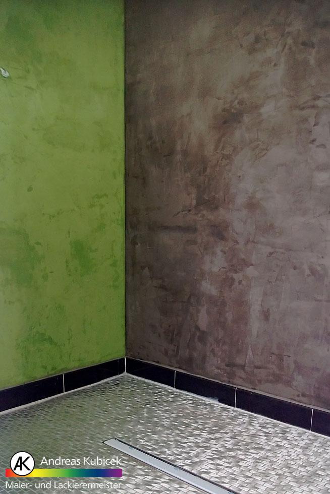 Fugenlose Badgestaltung | Maler- & Lackierermeister Kubicek Bremen