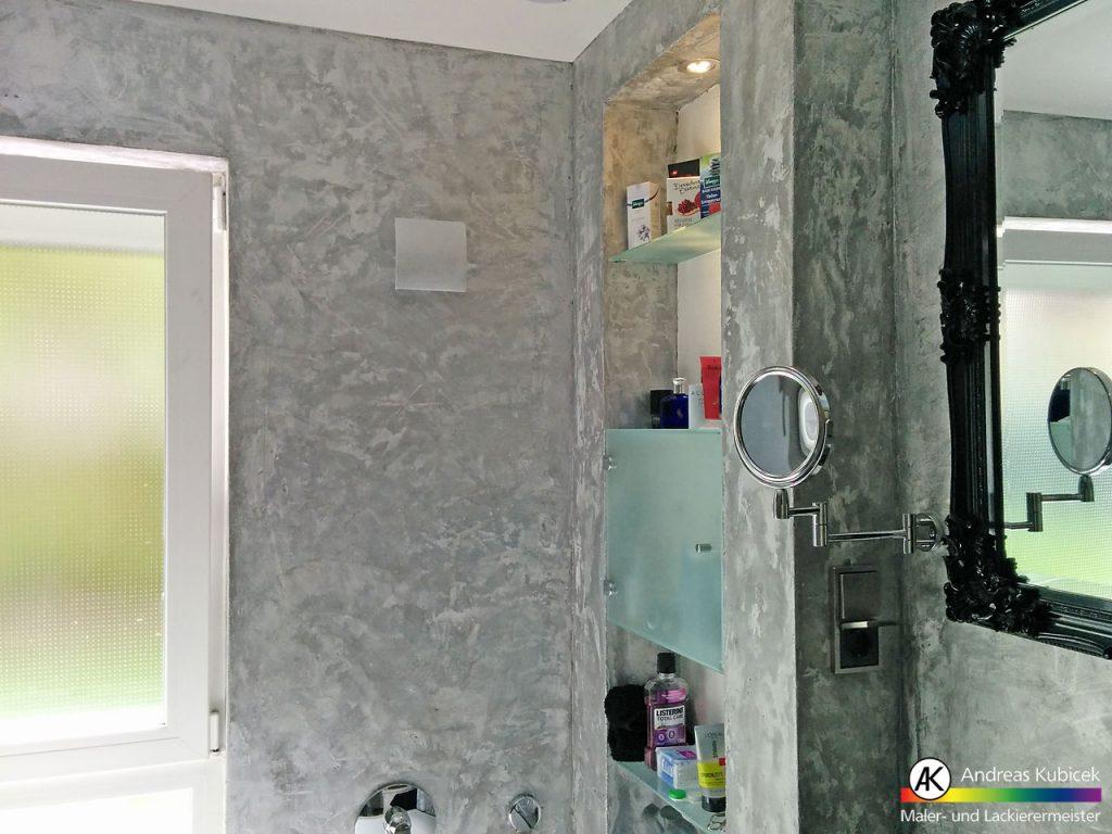 Fugenlose Badgestaltung   Maler  & Lackierermeister Kubicek Bremen