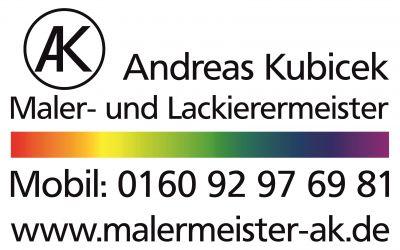 Malerbetrieb Kubicek Bremen Visitenkarte Maler