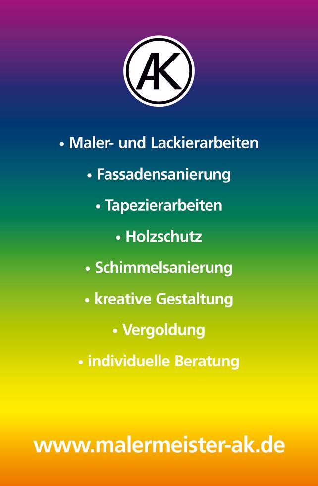 Malermeister Kubicek, Bremen Visitenkarte b