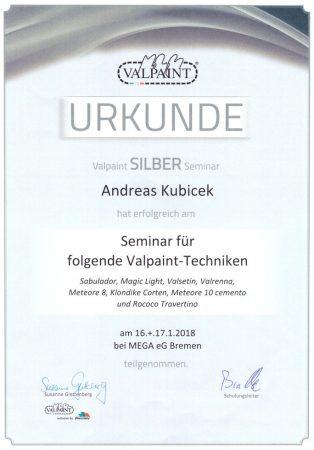 2018 Seminar Valpaint