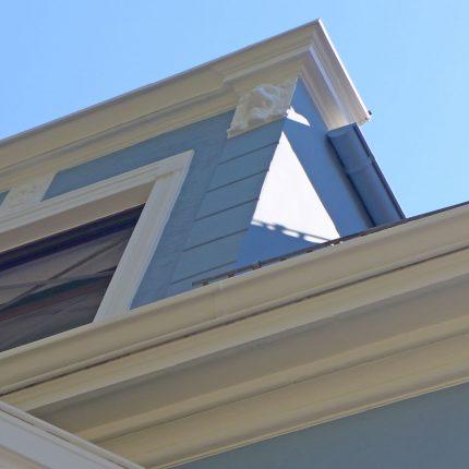 Altbremer Fassade Bremen Abbeizen Lackfarbe Mineralisch Gewebearmierung Spachteln Schleifen Anstriche Silikat Farbe 01