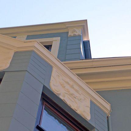 Altbremer Fassade Bremen Abbeizen Lackfarbe Mineralisch Gewebearmierung Spachteln Schleifen Anstriche Silikat Farbe 03