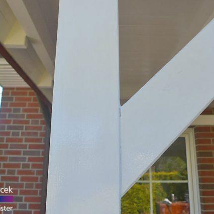 Fassadensanierung Carport streichen und lackieren in Bremen 21