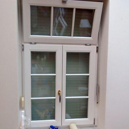 Fensteranstrich Fenster lackieren streichen Bremen weiss 01