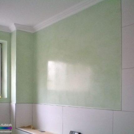 Fugenloses Badezimmer Spachteltechniken Wandgestaltung Bremen Maler 05