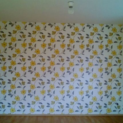 Tapete Tapezierarbeiten Bremen Wohnraumgestaltung Maler 02