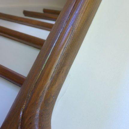 Treppe Treppenhaussanierung Gelaender streichen lackieren Maler Bremen 03