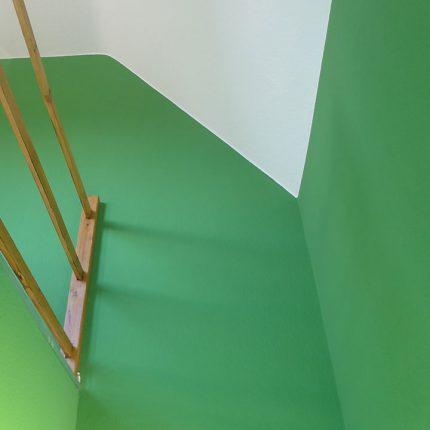 Treppenhaus Sanierung Malerarbeiten Lackierung Bremen 07