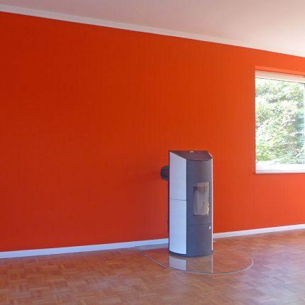 Wand Decke streichen Malerarbeiten Bremen Wohnraumgestaltung Maler 06