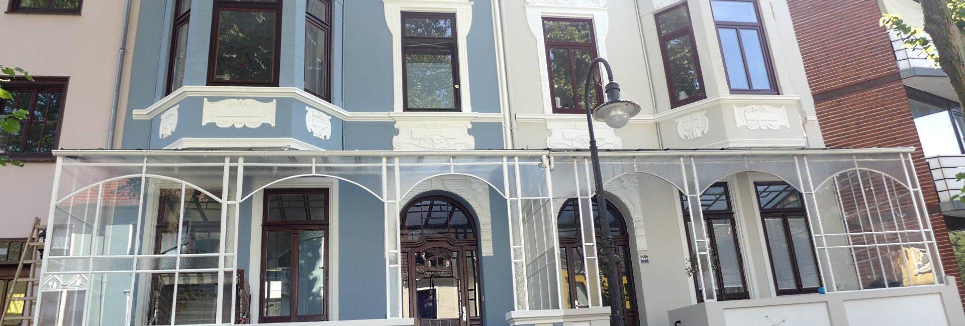 Fassadensanierung und Fassadenrenovierung in Bremen Altbremer Fassade
